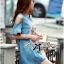 DR-LR-174 Lady Alexa Sequin Horse Cut-out Denim Dress thumbnail 8