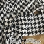 DR-LR-233 Lady Diana Glam Ruffle Houndstooth Shirt Dress thumbnail 8