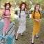 Maxxi Dress งานแม็กซี่เดรสยาว คอกลม พิมพ์ลายดอกเดซี thumbnail 1