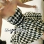 DR-LR-132 Lady Nicole Sexy Glam Strapless Houndstooth Dress thumbnail 5