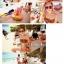 414 ชุดว่ายน้ำบิกินี่ทูพีช ลายแตงโมน่ารักๆ thumbnail 5