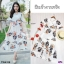 Maxi Dress แมกซี่เดรสยาว คอวี งานพิมพ์ลายดอกดอกไม้ thumbnail 7
