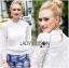 Lady Becca Smart Elegant High-Neck White Lace Blouse L254-69C02 thumbnail 6