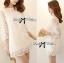 DR-LR-110 Lady Melanie Elegant Camelia White Organza Dress thumbnail 7