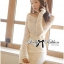 DR-LR-130 Lady Lindsay Off-shoulder Lace Body-con Dress in Ivory thumbnail 3