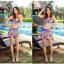 SM-V1-327 ชุดว่ายน้ำแฟชั่น คนอ้วน เด็ก ดารา thumbnail 8