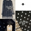 DR-LR-038 Lady Petra Timeless Chic Polka Dots Long-Sleeved Dress thumbnail 4
