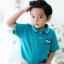 เสื้อโปโลเด็ก สีเขียว thumbnail 1