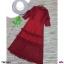 Maxi Dress ลูกไม้แขนยาว คอระบาย งานลูกไม้แต่งระบายช่วงอก thumbnail 8