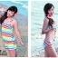 SM-V1-252 ชุดว่ายน้ำแฟชั่น คนอ้วน เด็ก ดารา thumbnail 4