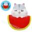 I376 สกุชชี่ Watermelo Poli ขนาด 15 cm (Super Soft) ลิขสิทธิ์แท้ thumbnail 1
