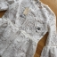 Lady Ashley Sweet Classic Lace Peplum Top in White L261-6909 thumbnail 10