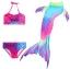NH012 ชุดว่ายน้ำหางนางเหงือก หางปิด สามารถใส่ฟินได้ (ในชุดไม่รวมฟิน) 1 ชุด มี 3 ชิ้น thumbnail 3