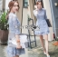 Lady Ariana Sweet Feminine French Lace Dress in Light Blue L217-95C17 thumbnail 2