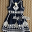 Lady Annie Vintage Style Embroidered Sleeveless Dress thumbnail 13