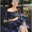 Lady Sophia Playful Chic Off-Shouldered Sparkling Stars Tulle Dress L257-69C11 thumbnail 6