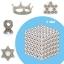 ZZ004 bucky ball cube แม่เหล็กแรงสูง สารพัดนึก ขนาด 5 mm. ชุด 216 ชิ้น thumbnail 1