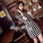 DR-LR-107 Lady Patt Formal Houndstooth Dress thumbnail 5
