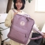 Feminine Classic Mini Backpack (Pastel Purple) thumbnail 3
