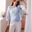 Lady Kristin Vintage Feminine Pastel Lace Blouse L267-6917 thumbnail 9