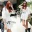 Dahong white chill out circle lace Mini dress L136-49A12 thumbnail 1