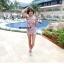 SM-V1-301 ชุดว่ายน้ำแฟชั่น คนอ้วน เด็ก ดารา thumbnail 4