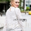 Lady Becca Smart Elegant High-Neck White Lace Blouse L254-69C02 thumbnail 8