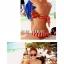 414 ชุดว่ายน้ำบิกินี่ทูพีช ลายแตงโมน่ารักๆ thumbnail 9