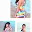 SM-V1-252 ชุดว่ายน้ำแฟชั่น คนอ้วน เด็ก ดารา thumbnail 8