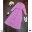 Maxi Dress แม็กซี่เดรสแซกลายสก๊อตมีเชือกผูกโบว์ thumbnail 6