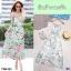 Maxi Dress สายเดี่ยวผ้าชีฟอง พิมพ์ลายดอกไม้ thumbnail 4
