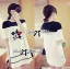 DR-LR-141 Lady Minnie Playful Mickey Print Dress in Black and White thumbnail 11
