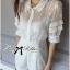 Lady Jenny Star Embroidered Silk Chiffon Collar Jumpsuit L153-79C04 thumbnail 3