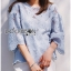 Lady Kristin Vintage Feminine Pastel Lace Blouse L267-6917 thumbnail 12