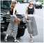 Lady Celina Minimal Chic Cropped Top and Striped Pants Set L259-7918 thumbnail 12