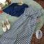 จั้มสูทสายเดี่ยวขายาวผ้าทอลายสก็อต thumbnail 8
