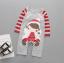 ไซส์ 80 ชุดหมีเด็กผ้านิ่ม มีหมวก ลายคริสมาต