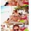 414 ชุดว่ายน้ำบิกินี่ทูพีช ลายแตงโมน่ารักๆ thumbnail 4