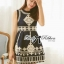 Lady Annie Vintage Style Embroidered Sleeveless Dress thumbnail 4