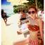 414 ชุดว่ายน้ำบิกินี่ทูพีช ลายแตงโมน่ารักๆ thumbnail 1