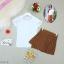 กระโปรงกางเกงผ้าลายไทย พร้อมเสื้อยืดสีขาว thumbnail 6
