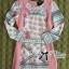DR-LR-257 Lady Lara Sweet Chic Art Deco Print Mini Dress thumbnail 10