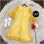 Dress เดรสผ้าลูกไม้ทรงสวยใส่เข้ารูปงานแขนระดับศอกปลายระฆัง thumbnail 7