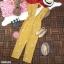 จั้มสูทขายาวผ้าซาร่าพิมพ์ลายดอกไม้ thumbnail 3