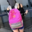 Bag Fashion กระเป๋าเป้สะพายหลัง กระเป๋าลายผ้าซินชาวเหนือ รุ่นMM (สีดำ) (รุ่น 2GnUam2) thumbnail 3