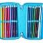 SMP084 กล่องดินสอ 3 ชั้น พร้อมเครื่องเขียน 42 ชิ้น Smiggle squad triple pencil case thumbnail 4