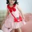 Lovely Crab Dress ชุดเดรสเด็กสีแดง thumbnail 3