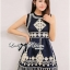 Lady Annie Vintage Style Embroidered Sleeveless Dress thumbnail 7