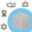 ZZ002 bucky ball cube แม่เหล็กแรงสูง ขนาด 3 mm. ชุด 216 ชิ้น (1) thumbnail 1