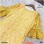 Dress เดรสผ้าลูกไม้ทรงสวยใส่เข้ารูปงานแขนระดับศอกปลายระฆัง thumbnail 6